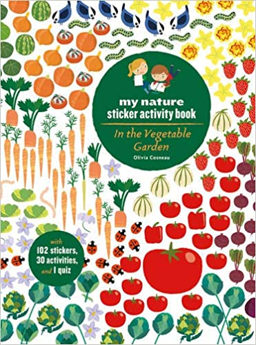 Veggie Garden Sticker Book