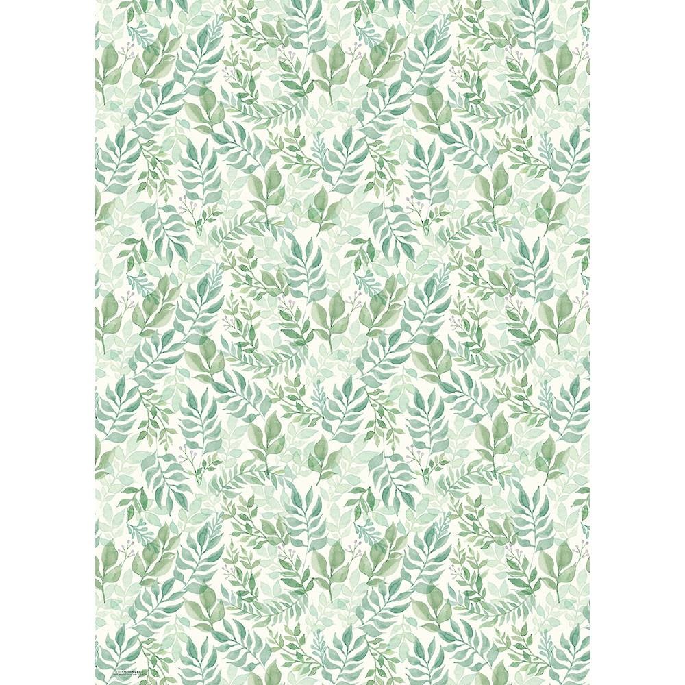 Watercolour Garden Wrap Roll