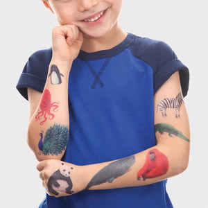 Temporary Tattoos Set
