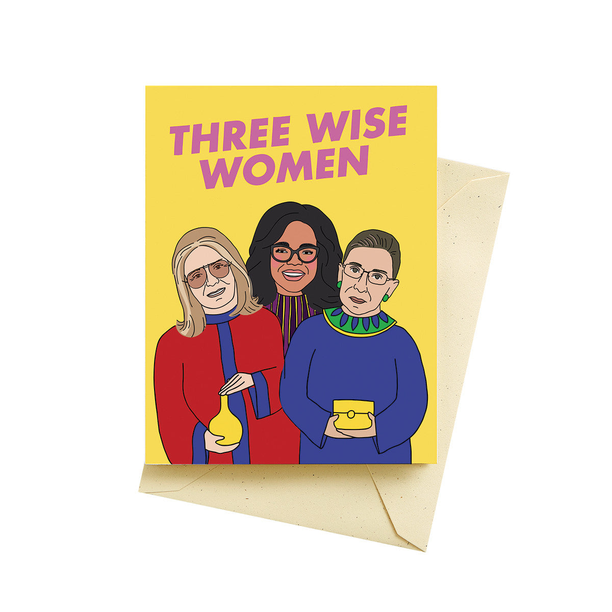 Three Wise Women Card