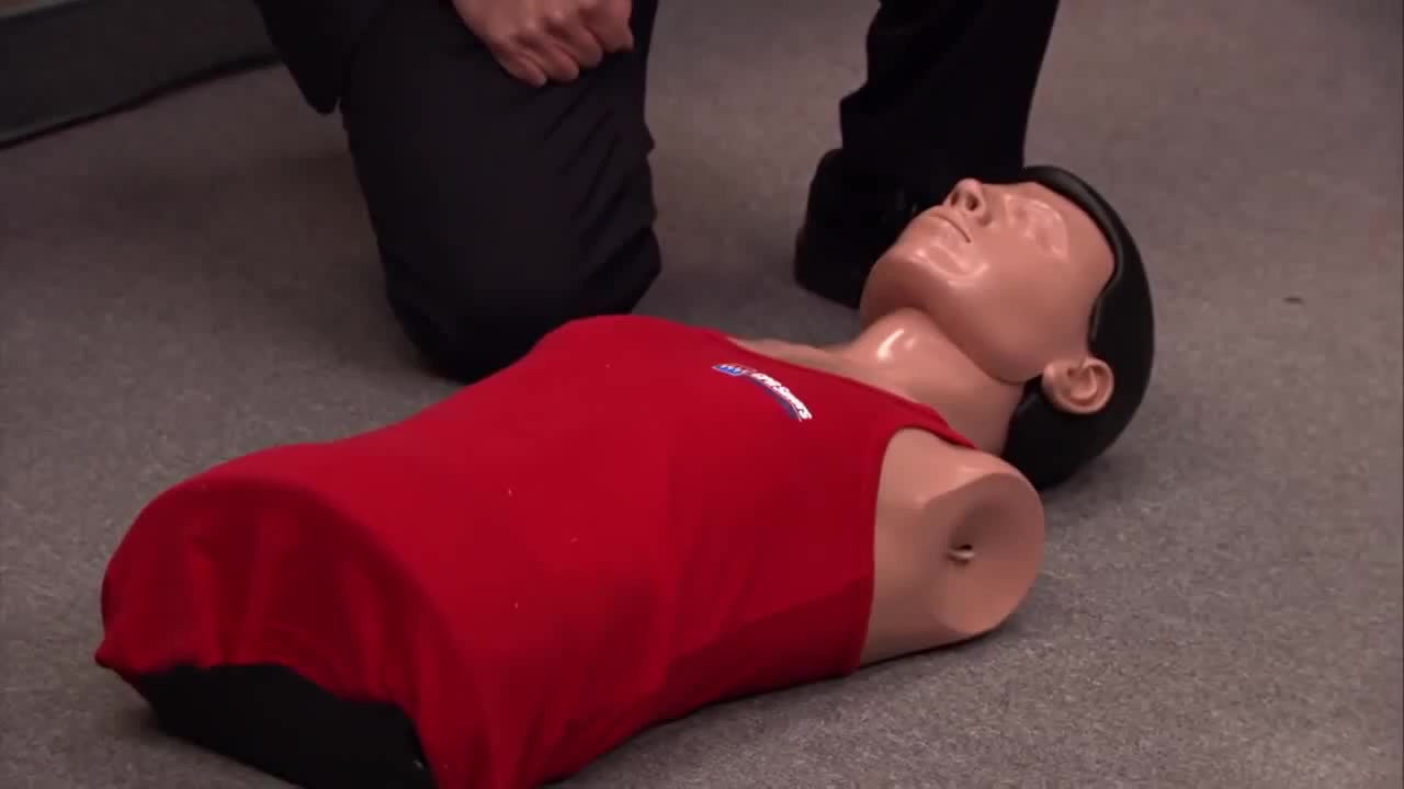 "You Can't Miss This First Aid Fail From ""The Office"""