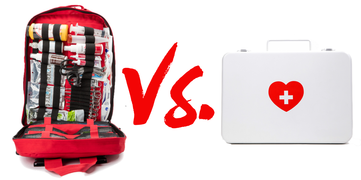 Difference Between a First Aid Kit & a Trauma Kit | MyMedic