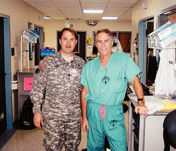 Injured Soldiers Change Surgeon's Life