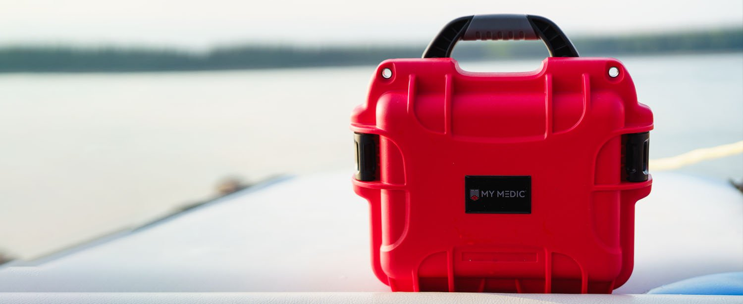 My Medic's Boat First-aid Kit is perfect safety shield for your next boat, fishing and water sports adventure