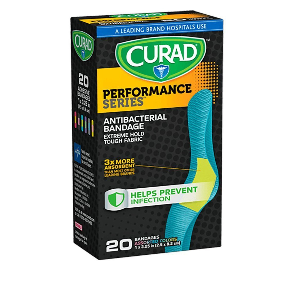 Curad Bandage | Performance Series 1 in. x 3.25 in.