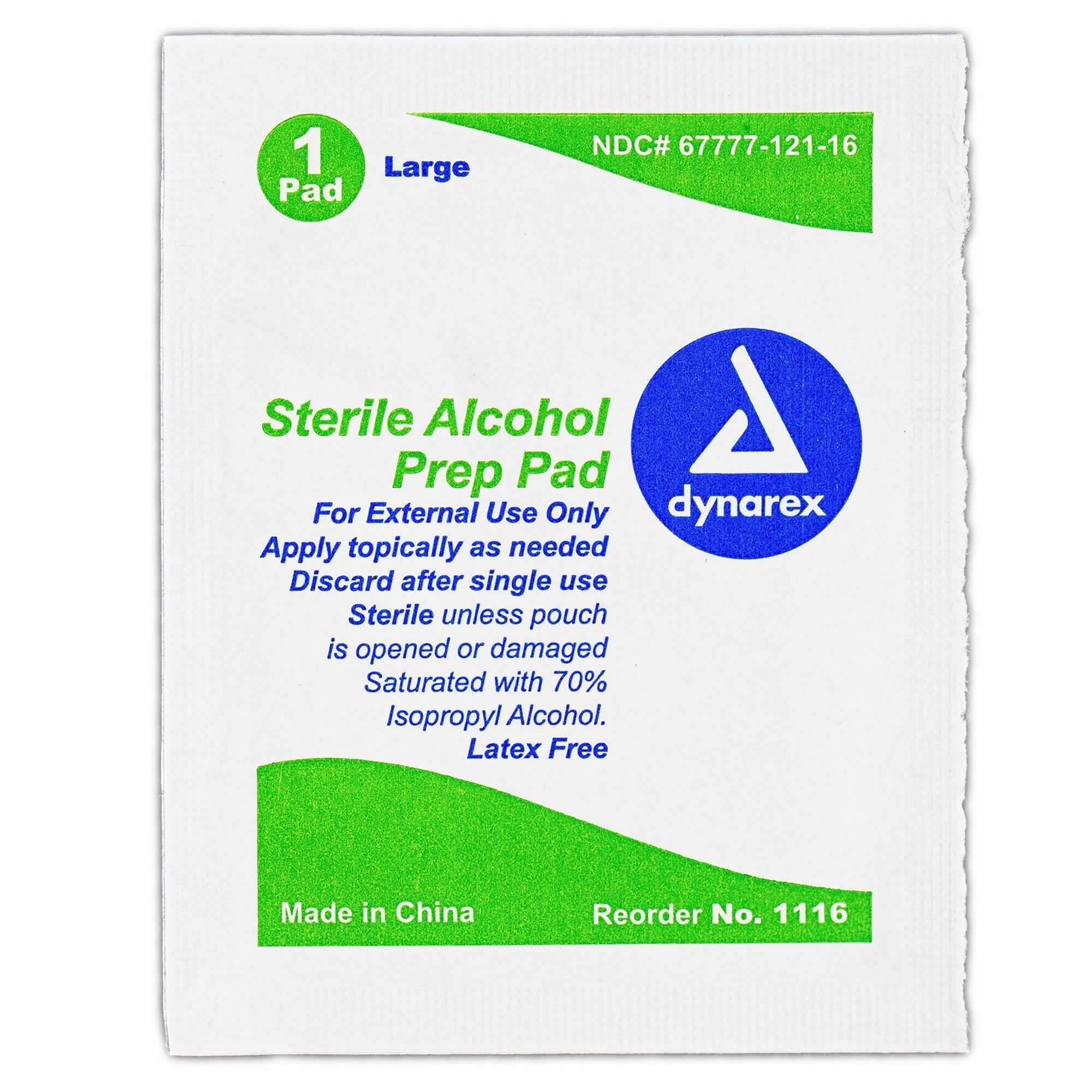 Alcohol Prep Pad Wipe