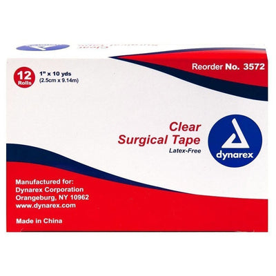 Clear Surgical Tape Box