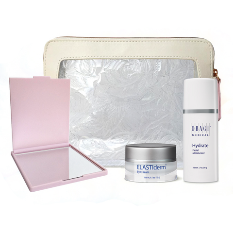 Obagi 3-Piece Gift Set w/ Hydrate Facial Moisturizer and Mirror