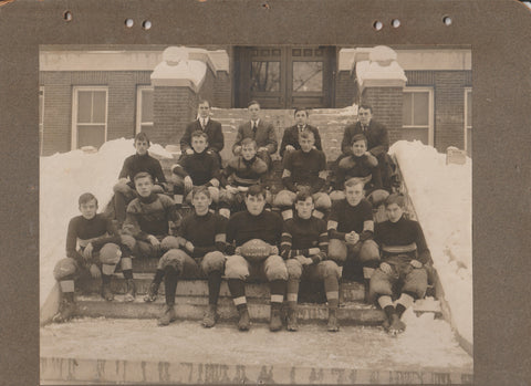 1907 West Chester High School Football Team Photograph