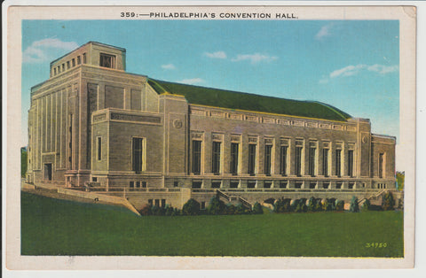 Philadelphia Convention Hall and Civic Center / Municipal Auditorium Built 1931 Demolished 2005