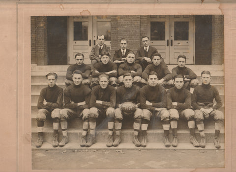 1917 West Chester High School Football Team Photograph WCHS Photo