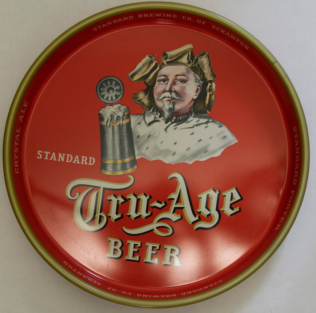 Tru-Age Beer Metal Serving Tray