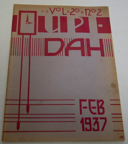 """UPI-DAH"" Upper Darby High Arts Magazine (Feb. 1937)"