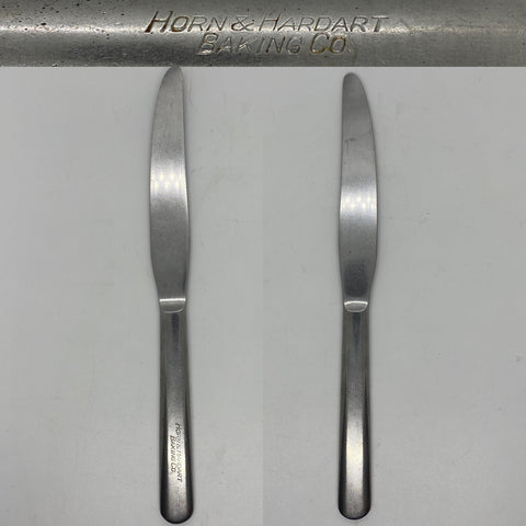 Horn & Hardart Baking Co 9 inch Stainless Steel silverware Knife this former automat chain was founded in Philadelphia