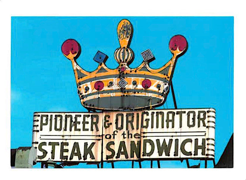 Pat's King of Steaks Postcard