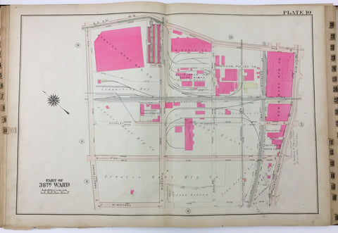 1925 Bromley Atlas - Plate 10 - Nicetown: Hunting Park Ave, Atwater Kent MFG Co.