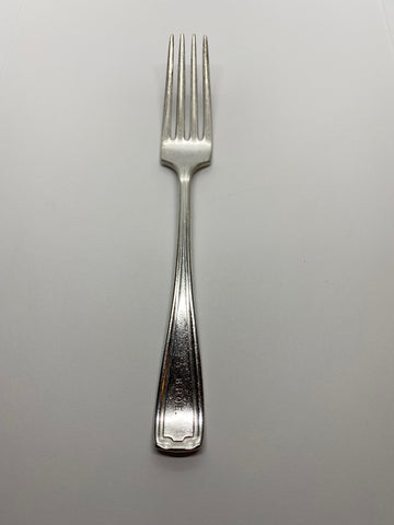 Benevolent and Protective Order of Elks / Elks Philadelphia 7.5 inch Silver Plated fork Pennsylvania Lodge Utensil