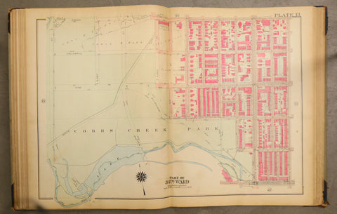 Overbrook: Vine Street, Cobbs Creek Park - Map Available after 01/01/2021 -