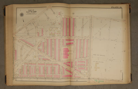 1923 Bromley Atlas - Plate 26 - West Oak Lane: Stenton Ave, John L. Kinsey Public School