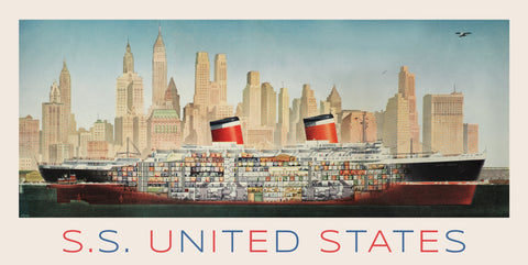 SS United States Print