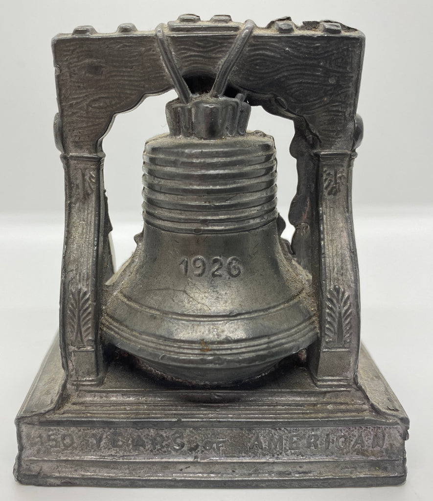 Souvenir Liberty Bell Molded paperweight 1776-1926