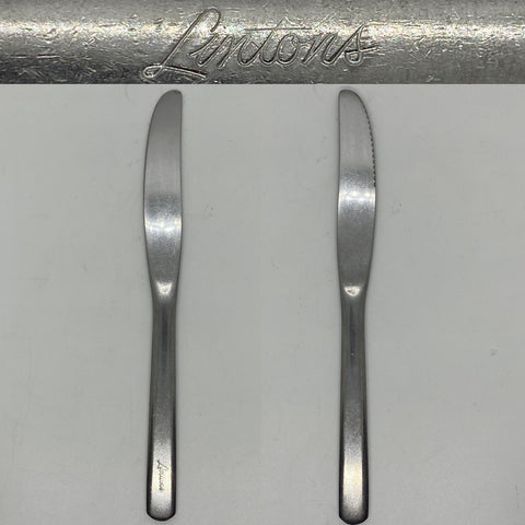 Linton's Restaurant 8.5 inch Stainless Steel silverware Knife this former restaurant chain was founded in Philadelphia