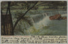 1907 Flat Rock Dam of Shawmont on the Schuylkill River Posted Postcard