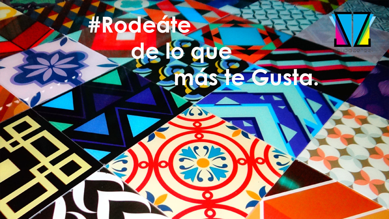 Canva-Glass® : Azulejos.