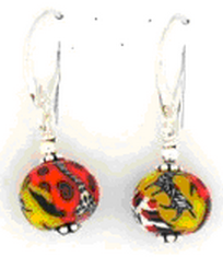 Journey Single Bead Wire Earrings