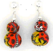 Journey Double Bead Post Earrings