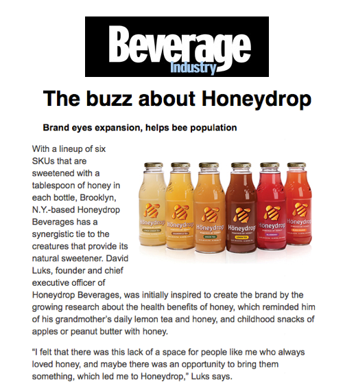 The buzz about honeydrop