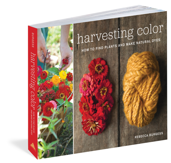 Harvesting Color Book by Rebecca Burgess