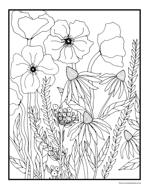 Community Quarantine Coloring Book, Benefitting Survivors of Domestic Violence