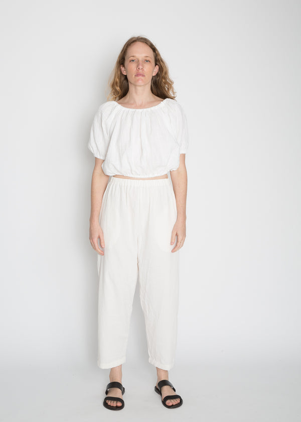 Hadid Pant, Cotton Lyocell in Natural