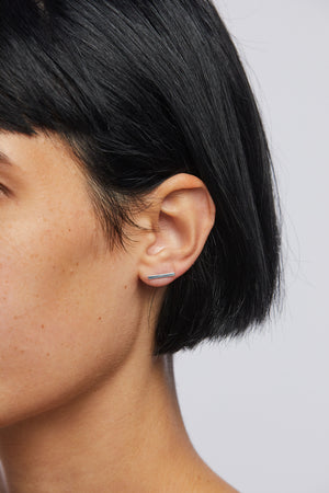 Plume Long Bar Earring