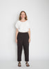 Petite Hadid Pant, Cotton Lyocell in Black