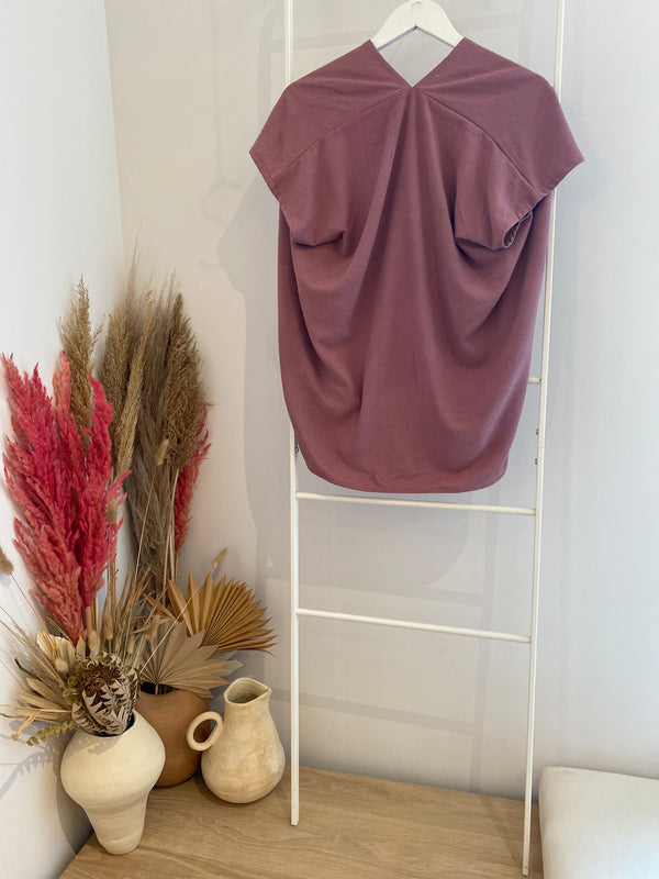 Everyday Top, Silk Noil in Paradiso
