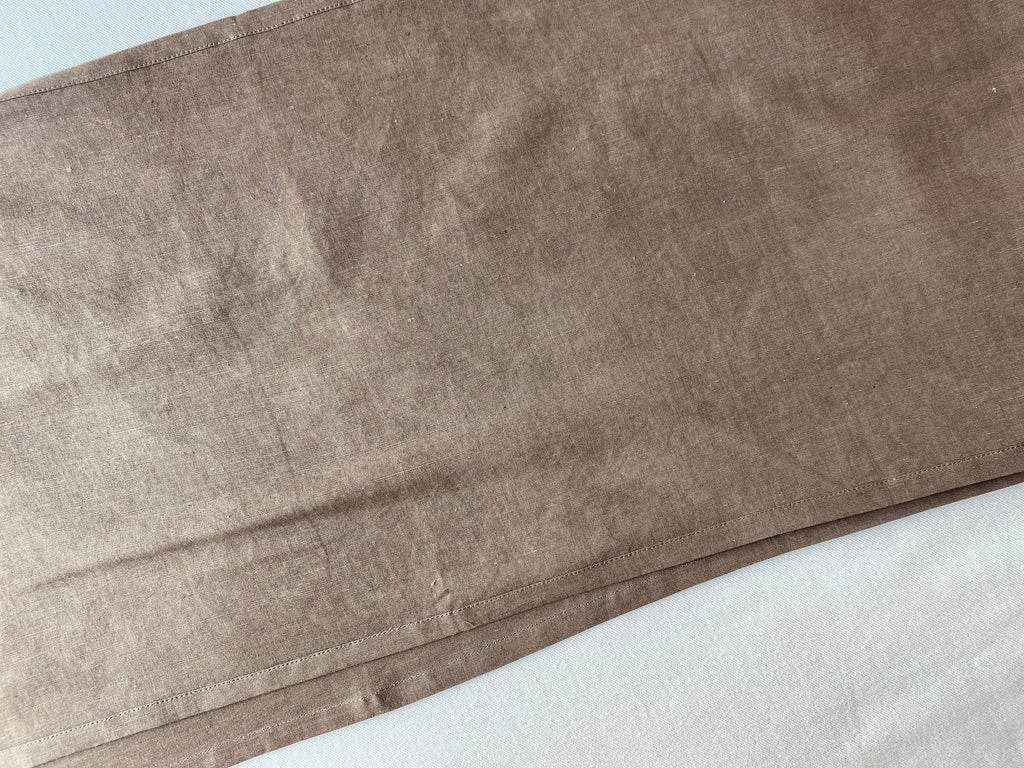 Table Runner, Linen in Acacia & iron