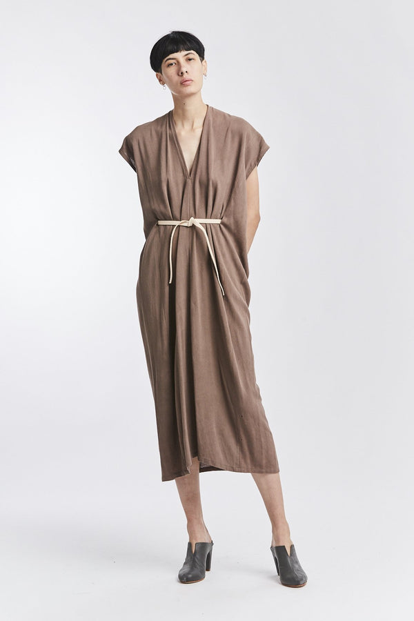 Knot Dress, Rayon in August