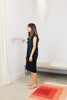 Petite Everyday Dress, Silk Noil in Black