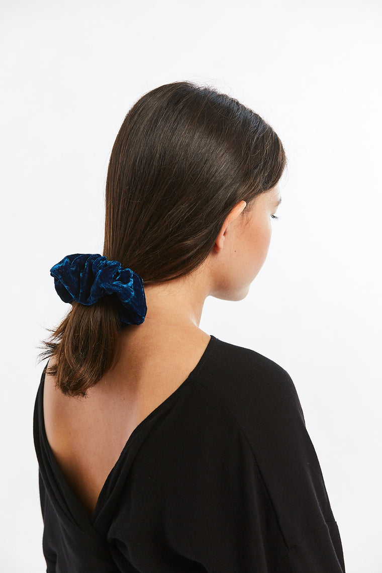 MBS x Winden Zero Waste Scrunchie, Velvet in Versailles