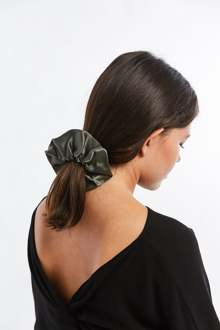 MBS x Winden Zero Waste Scrunchie, Silk Charmeuse in Lanai