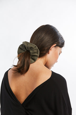 MBS x Winden Scrunchie, Silk Noil in Savannah