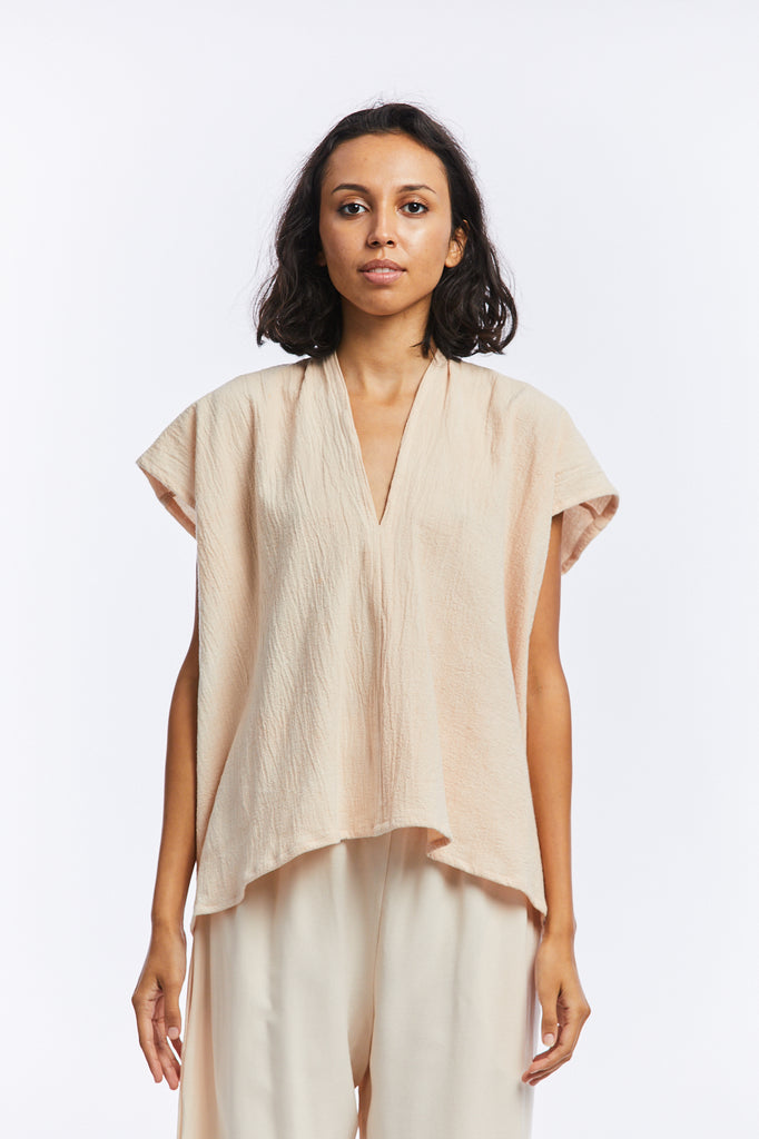 Everyday Top, Textured Cotton in Jaipur FINAL SALE