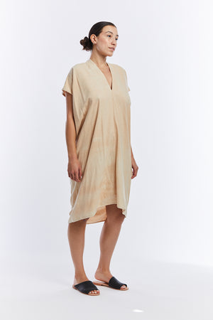 Everyday Dress, Silk Noil in Lucien