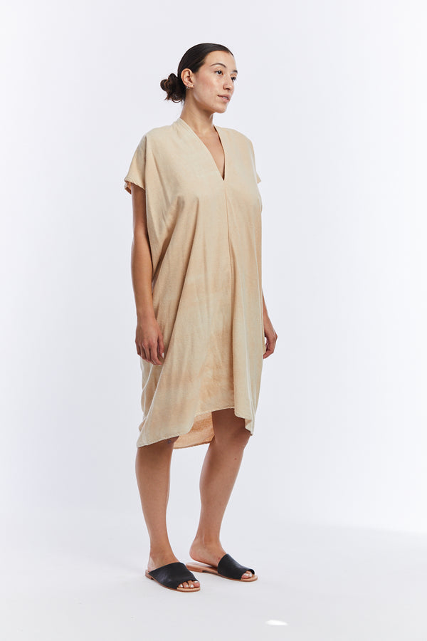 Petite Everyday Dress, Silk Noil in Lucien FINAL SALE