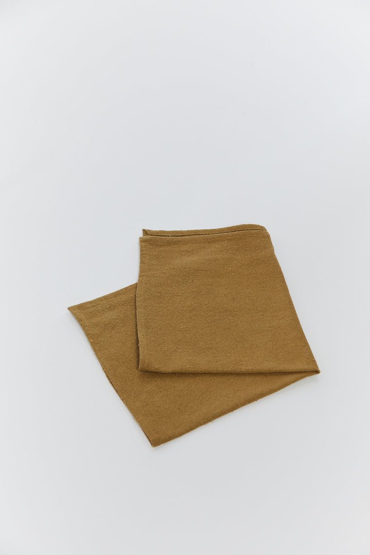 Zero Waste Pocket Square, Silk Noil in Glasgow