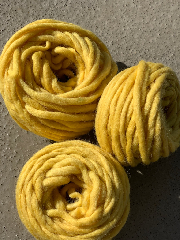 Mexican Mint Marigold Dyed Yarn 1.5 oz