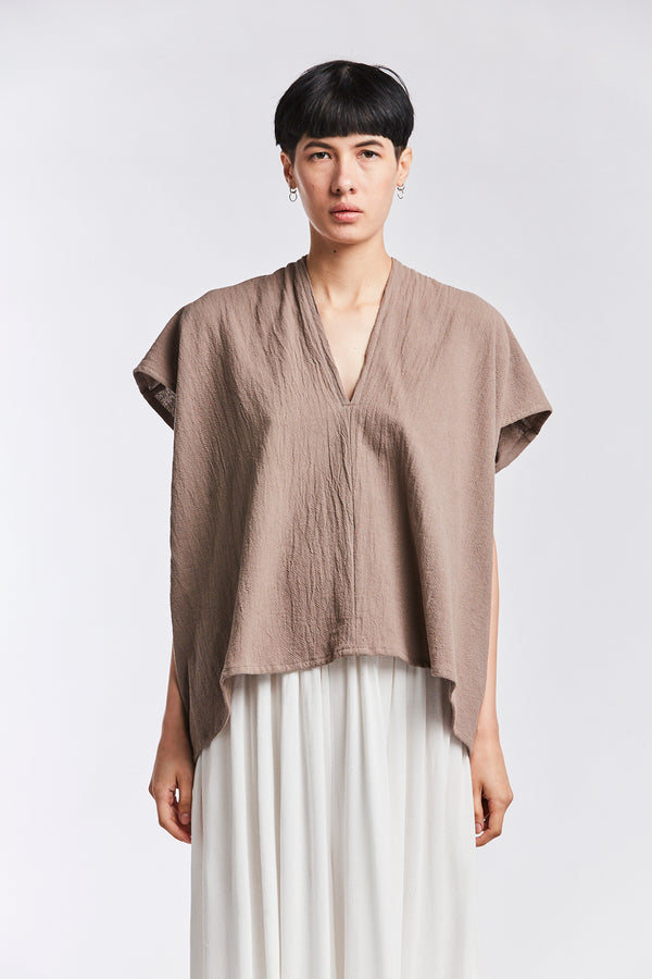 Everyday Top, Textured Cotton in Faroe