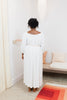 Cassatt Dress, Rayon in White